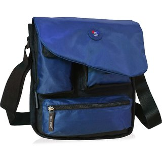 my pac Vivaa messenger Sling bag Blue C11544-5