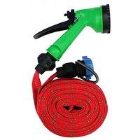 Trendmakerz Multifunctional Water Spray Gun 10 Mtr Hose For Car Wash/Vehicle Cleaning Ultra High Pressure gun Washer