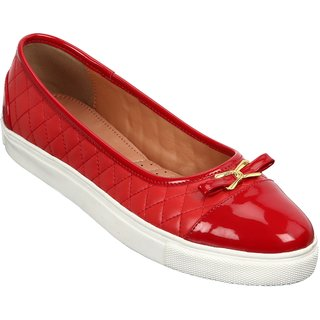 Lavie Women Red Sneakers