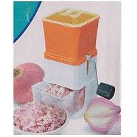 Onion & Vegetable Manual Cutter Chopper - 4616568
