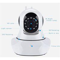 Home Security IP Camera Wireless Surveillance Camera Wifi 720P Night Vision Dual Antenna Support Linkage Alarm