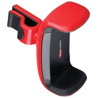 Portronics POR-722 Clamp Car Mobile Holder for Smart phones with 360 Multi angle adjustable