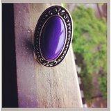 Purple Adjustable Ring