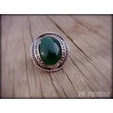 Adjustable Green Ring
