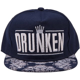 ILU Drunken Snapback Hiphop Baseball Cap Caps for Men & Women
