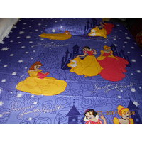 High Quality Barbie Print Single Bed Sheet With One Pillow Cover