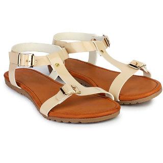 Do Bhai Sandal-Robin-Cream Sandals for Women