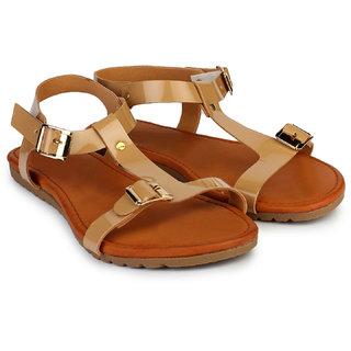 Do Bhai Sandal-Robin-Tan Sandals for Women