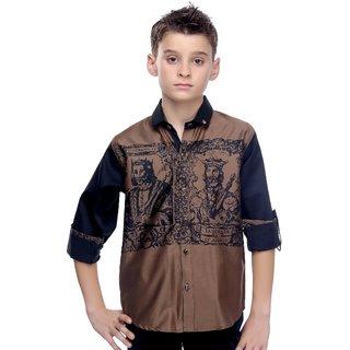 MashUp Roman Print Shirt