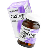 HealthAid Cod Liver Oil 1000mg - 30 Capsules
