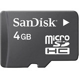 8 GB MICRO SD CARD SANDISC + BILL + WARRANTY