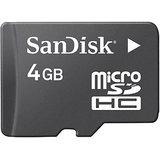 8 GB MICRO SD CARD SANDISC + BILL + WARRANTY