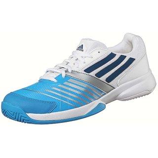 Adidas Galaxy Elite III Men's Tennis Shoes Q22079 White/Blue