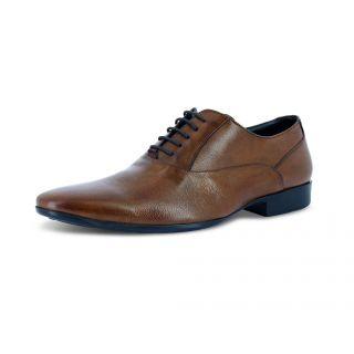 Alberto Torresi Mens Tan Formal Shoes