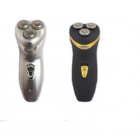 Gemei/Novva 3 Headed Rechargeable Shaver (Assorted Color)