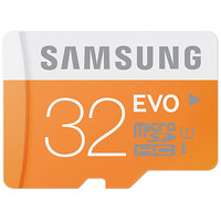 Samsung EVO MicroSDHC 32GB Class 10 UHS I Memory Card