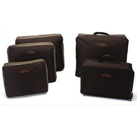 Travel Luggage Organizer - 5 Pcs Set - Coffee_P1B36