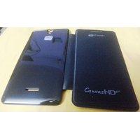 Garmor Flip Cover For Micromax Canvas HD Plus A190- Black