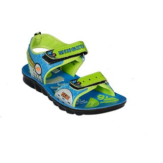 LANCER COLORFUL BLUE / GREEN COMFORTABLE CASUAL SANDLE FOR KIDS (707)