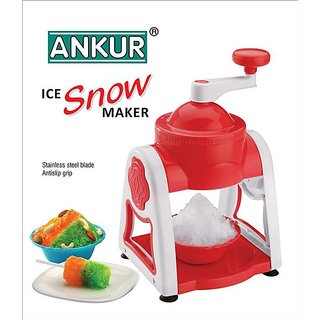 Ankur Ice Snow Gola Maker 11 Pieces Red