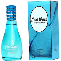 Cool Wave For Women Perfume  Edp Of 100 ml For Her ( Pack of 2)