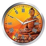 Lord Buddha IDeals Designer Wall Clock 15 (Diwali Gift Corporate Gift )