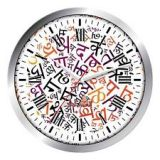 IDeals  Wall Clock Model 21 For Diwali Gifting - Corporate Gifting