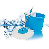 Easy 360 Degree Magic Spin Mop For Easy Cleaning+ Kolvin Body Massager Free