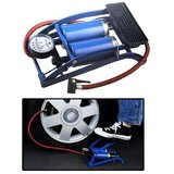 Coido - Foot Air Pump Compressor 8cm Twin Cylinder For Bike & Car