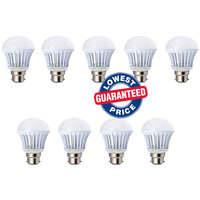 Soy Impulse 3w Bright White Light Led Bulb Saving Energy 1 Set Of 9 Pcs.