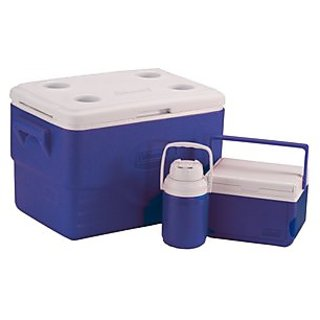 Coleman 36-Quart Cooler Combo, Blue