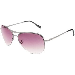 Fastrack Grey UV Protection Aviator Girl Sunglasses