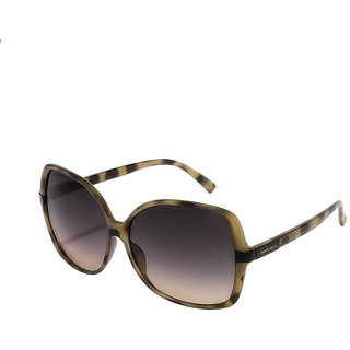 Fastrack Purple UV Protection Over-sized Girl Sunglasses