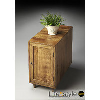 Chairside Chest -Mango Wood (LE-600007)