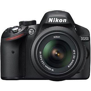 Nikon D3200 SLR (Black) with 18-55 mm VR Kit Lens