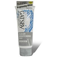 Gatsby Clear Whitening Foam Face Wash 120Gm