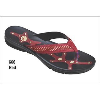 Women's Smart Slippers 666 Red