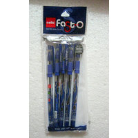 Set Of 5 Cello Fasto Ball Pen - Original Brand New