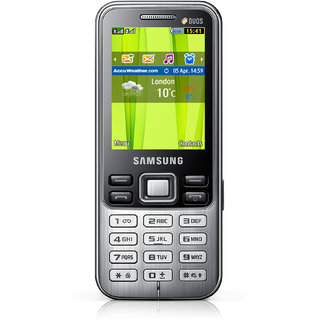 Samsung C3322 Metro Duos available at ShopClues for Rs.3849