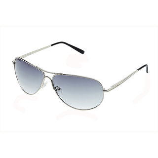 Fastrack Green UV Protection Aviator Unisex Sunglasses