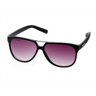 Fastrack Grey UV Protection Aviator Unisex Sunglasses