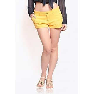 Miss Chase Summer Shorts (Yellow)