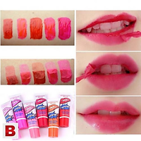 Peel-off lipgloss or Peel-off lipstains ADS Company Pack of 6