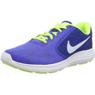 Nike Men'S Revolution 3 Blue Running Shoes
