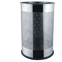 Stainless Steel Dustbin Round Perforated