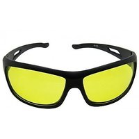Fashno Night Driving Vision Anti Glare Yellow Lens