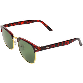 Zyaden Green UV Protection Club-Master Unisex Sunglasses
