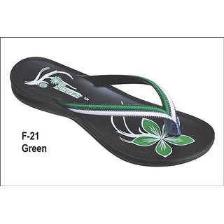 Women's Slippers F-21 Green