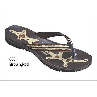 Women's Slippers 663 Brown