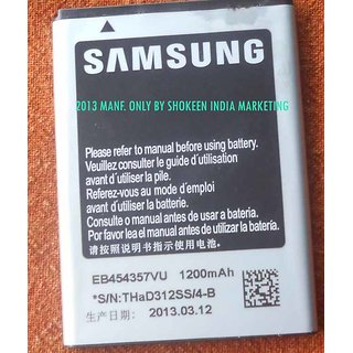 Samsung Galaxy Y S5360 Battery EB454357VU for Galaxy Y S5360 Battery available at ShopClues for Rs.275